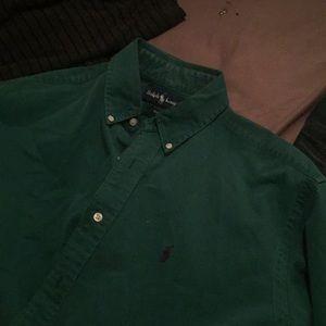 Vintage Ralph Lauren medium dress shirt